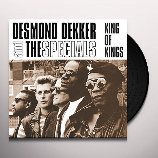 Desmond Dekker KING OF KINGS Vinyl Record