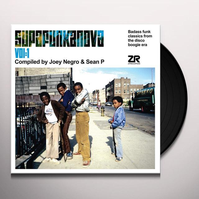 Joey Negro / Sean P SUPAFUNKANOVA 1 Vinyl Record