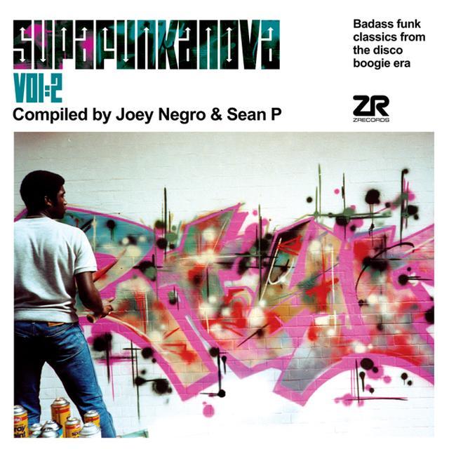 Joey Negro / Sean P SUPAFUNKANOVA 2 Vinyl Record