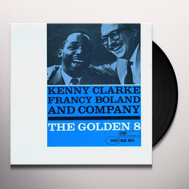 Kenny Clarke GOLDEN 8 Vinyl Record - Gatefold Sleeve, 180 Gram Pressing