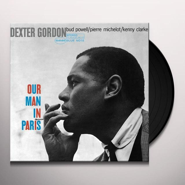 Dexter Gordon OUR MAN IN PARIS Vinyl Record - Gatefold Sleeve, 180 Gram Pressing