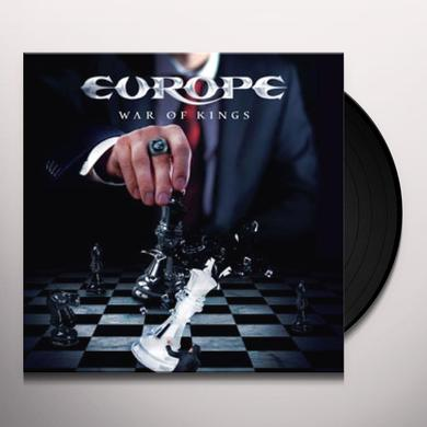 Europe WAR OF KINGS Vinyl Record