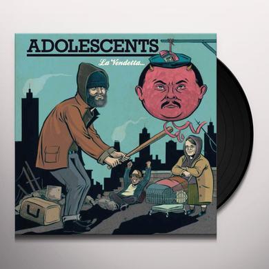 Adolescents LA VENDETTA E UN PIATTO CHE VA SERVITO FREDDO Vinyl Record