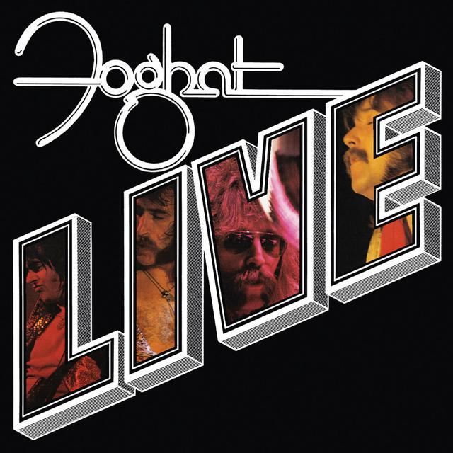 FOGHAT LIVE Vinyl Record - 180 Gram Pressing