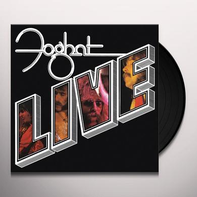 FOGHAT LIVE Vinyl Record