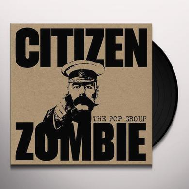 The Pop Group CITIZEN ZOMBIE Vinyl Record - Colored Vinyl, Limited Edition, 180 Gram Pressing, Poster, Digital Download Included
