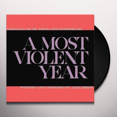 Alex Ebert MOST VIOLENT YEAR Vinyl Record