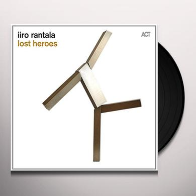 Iiro Rantala LOST HEROES Vinyl Record