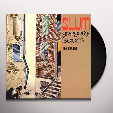 Gregory Isaacs SLUM IN DUB Vinyl Record - Canada Import