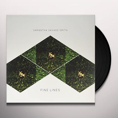 Samantha Savage Smit FINE LINES Vinyl Record - Canada Import