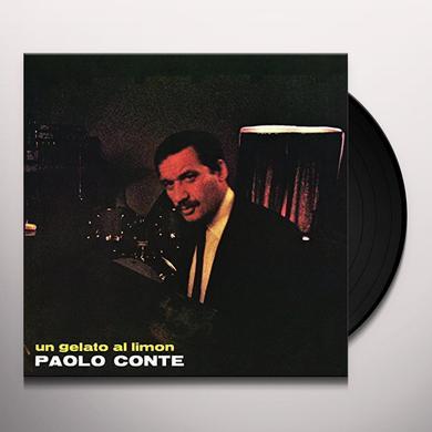 Paolo Conte UN GELATO AL LIMON Vinyl Record