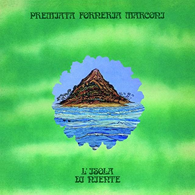 Pfm L'ISOLA DI NIENTE Vinyl Record - Italy Import