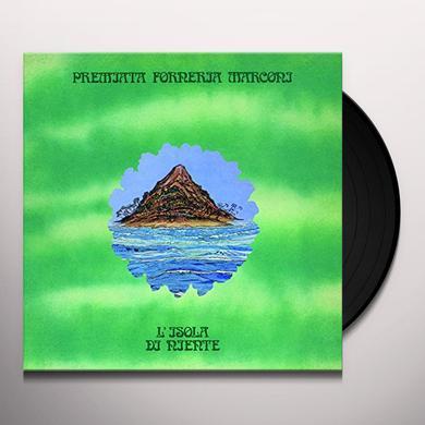 Pfm L'ISOLA DI NIENTE Vinyl Record