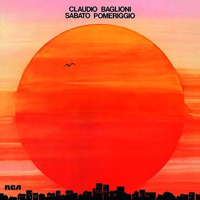 Claudio Baglioni SABATO POMERIGGIO Vinyl Record
