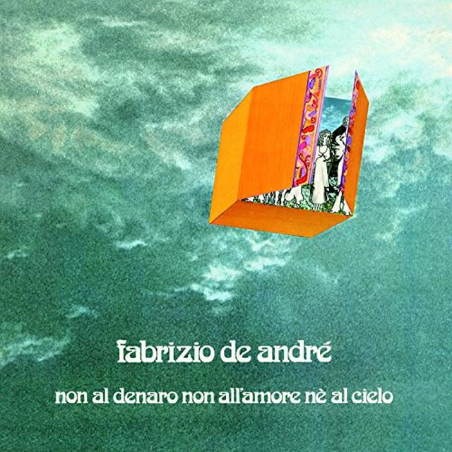 Fabrizio De André NON AL DENARO NON ALL'AMORE NE AL CIELO Vinyl Record - Italy Import