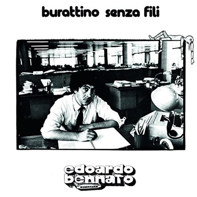 Edoardo Bennato BURATTINO SENZA FILI Vinyl Record