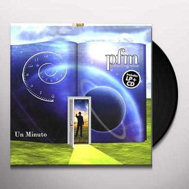 Pfm UN MINUTO (BONUS CD) Vinyl Record - Italy Import