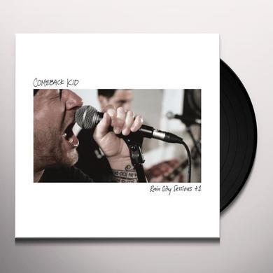 Comeback Kid RAIN CITY SESSIONS +1 Vinyl Record