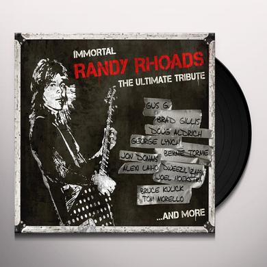 IMMORTAL RANDY RHOADS: THE ULTIMATE TRIBUTE / VAR Vinyl Record