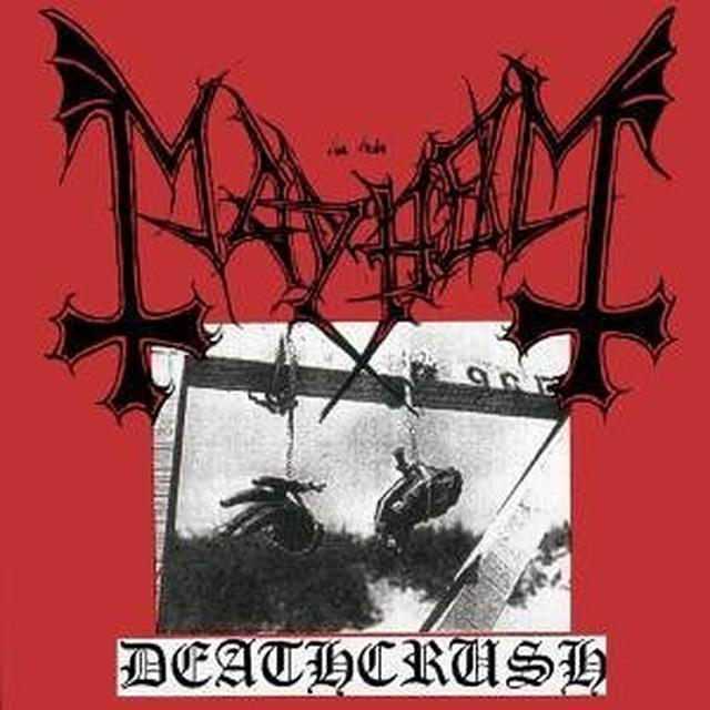 Mayhem DEATHCRUSH Vinyl Record