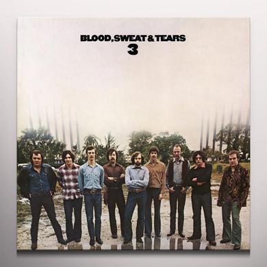 BLOOD SWEAT & TEARS 3 Vinyl Record - Clear Vinyl, Gatefold Sleeve, Limited Edition, 180 Gram Pressing
