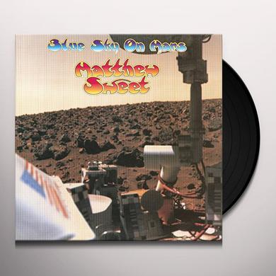 Matthew Sweet BLUE SKY ON MARS Vinyl Record - Holland Release