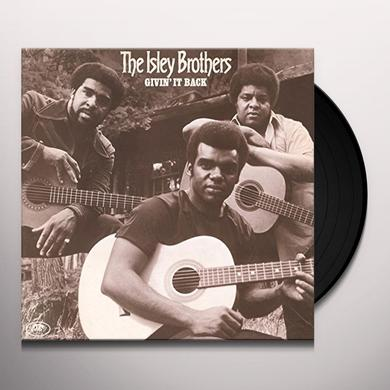 The Isley Brothers GIVIN' IT BACK Vinyl Record - Holland Import