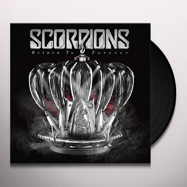 Scorpions RETURN TO FOREVER Vinyl Record - UK Import