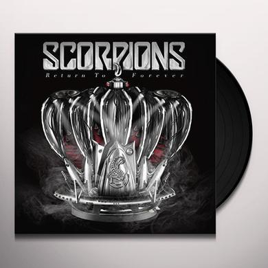 Scorpions RETURN TO FOREVER Vinyl Record - UK Import