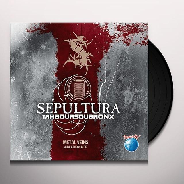 Sepultura METAL VEINS-ALIVE AT R Vinyl Record