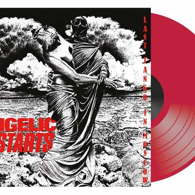 Angelic Upstarts LAST TANGO IN MOSCOW Vinyl Record - Colored Vinyl, UK Release