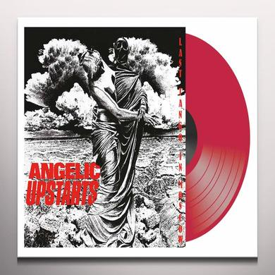 Angelic Upstarts LAST TANGO IN MOSCOW Vinyl Record - Colored Vinyl, UK Import