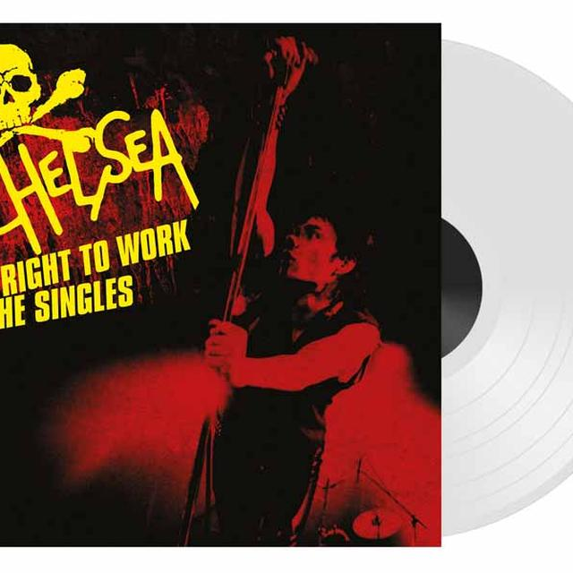 Chelsea RIGHT TO WORK-THE SINGLES Vinyl Record - Colored Vinyl, UK Import