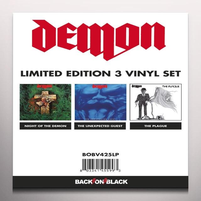 Demon LTD EDITION VINYL SET Vinyl Record - Colored Vinyl, Limited Edition, UK Import