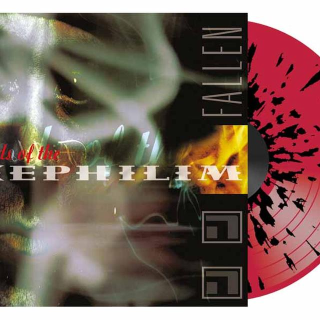 Fields of the Nephilim FALLEN Vinyl Record - UK Import, Colored Vinyl