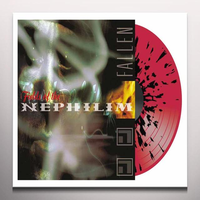 Fields of the Nephilim FALLEN Vinyl Record - UK Import, Colored Vinyl