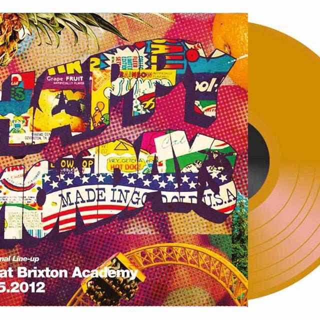 Happy Mondays LIVE BRIXTON ACADEMY 2012 Vinyl Record - Colored Vinyl, UK Import