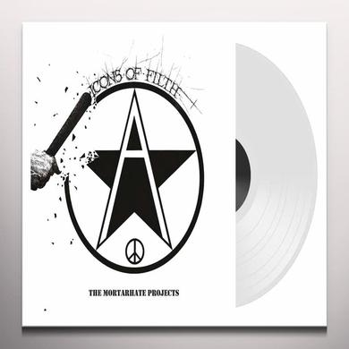 Icons of Filth MORTARHATE PROJECTS Vinyl Record - Colored Vinyl, UK Import