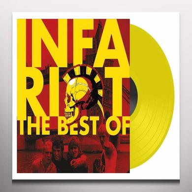 Infa Riot BEST OF Vinyl Record - Colored Vinyl, UK Release