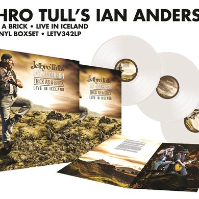 Ian Anderson THICK AS A BRICK-LIVE IN ICELAND Vinyl Record - Colored Vinyl, UK Release