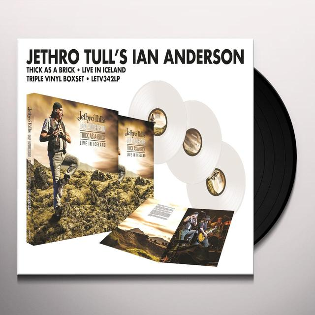 Ian Anderson THICK AS A BRICK-LIVE IN ICELAND Vinyl Record - Colored Vinyl, UK Import