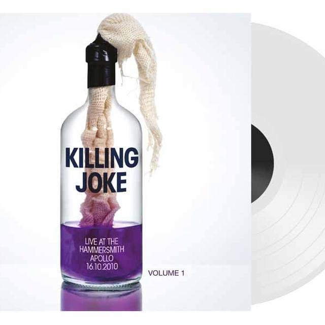 Killing Joke LIVE AT THE HAMMERSMITH APOLLO 16. 10. 10 PART 1 Vinyl Record