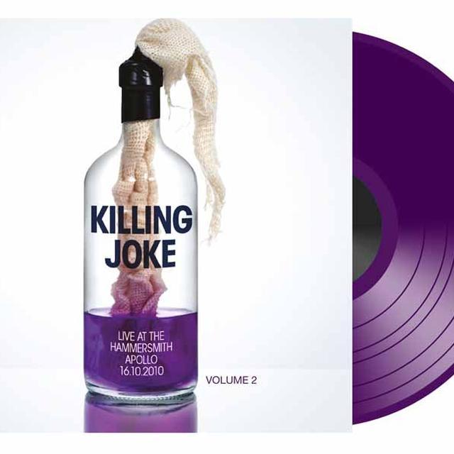 Killing Joke LIVE AT THE HAMMERSMITH APOLLO 16. 10. 10 PART 2 Vinyl Record