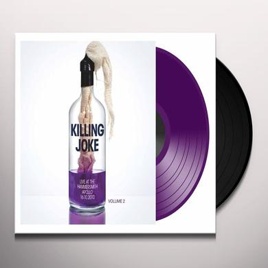 Killing Joke LIVE AT THE HAMMERSMITH APOLLO 16. 10. 10 PART 2 Vinyl Record