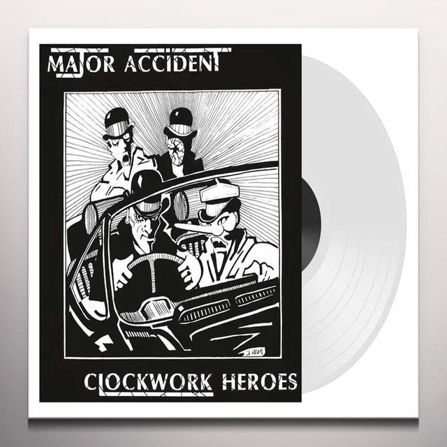 Major Accident CLOCKWORK HEROES-THE BEST OF Vinyl Record - Colored Vinyl, UK Import