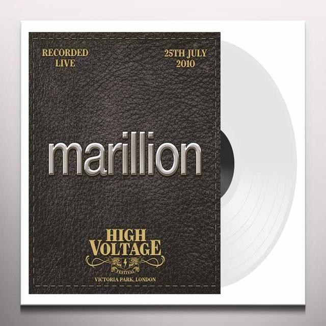 Marillion LIVE HIGH VOLTAGE 2012 Vinyl Record - UK Import, Colored Vinyl