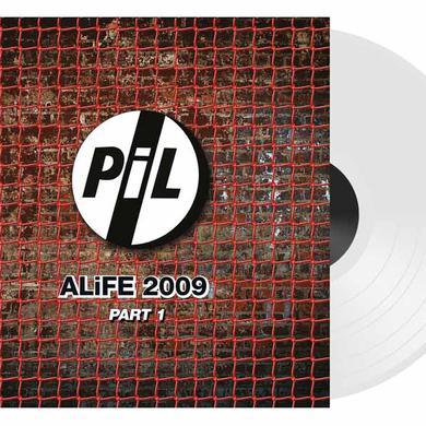 Public Image Ltd ( Pil ) ALIFE 2009 PART 1-WHITE VINYL Vinyl Record
