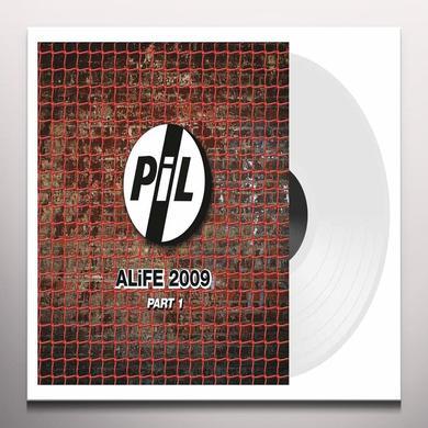 Public Image Ltd ( Pil ) ALIFE 2009 PART 1-WHITE VINYL Vinyl Record - Colored Vinyl, White Vinyl, UK Import