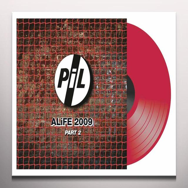 Public Image Ltd ( Pil ) ALIFE 2009 PART 2 Vinyl Record - Colored Vinyl, UK Release