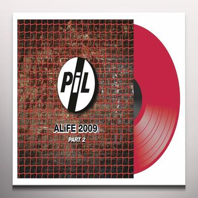 Public Image Ltd ( Pil ) ALIFE 2009 PART 2 Vinyl Record - Colored Vinyl, UK Import